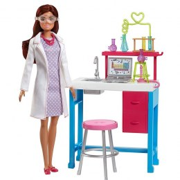 Mattel Barbie On The Go Labolatorium Naukowe zestaw