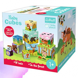 TREFL Baby cubes - W lesie Little Planet