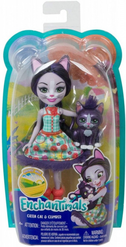 Mattel Enchantimals Ciesta Cat & Climber