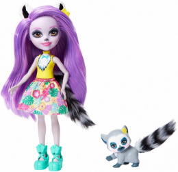 Mattel Enchantimals Larisa lemur + Ringlet