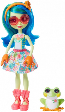 Mattel Enchantimals Tamika Zaba + Burst