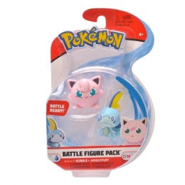 Pokemon Battle Figurki - Sobble + Jigglypuff