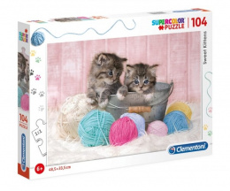 CLE puzzle 104 Sweet Kittens 27115