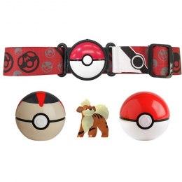Pokemon Clip N Go Poke Ball + Pasek - Growlithe