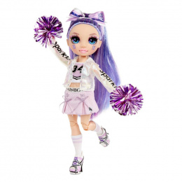 MGA Rainbow High Cheer Doll - Violet Willow (Purple) 572084