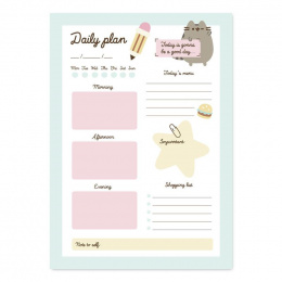 PUSHEEN FOODIE NOTES DZIENNY
